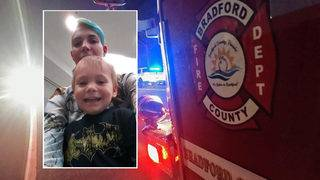 Woman, son killed in head-on collision in Bradford County