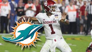 ESPN's Kiper predicts Dolphins select Kyler Murray in draft