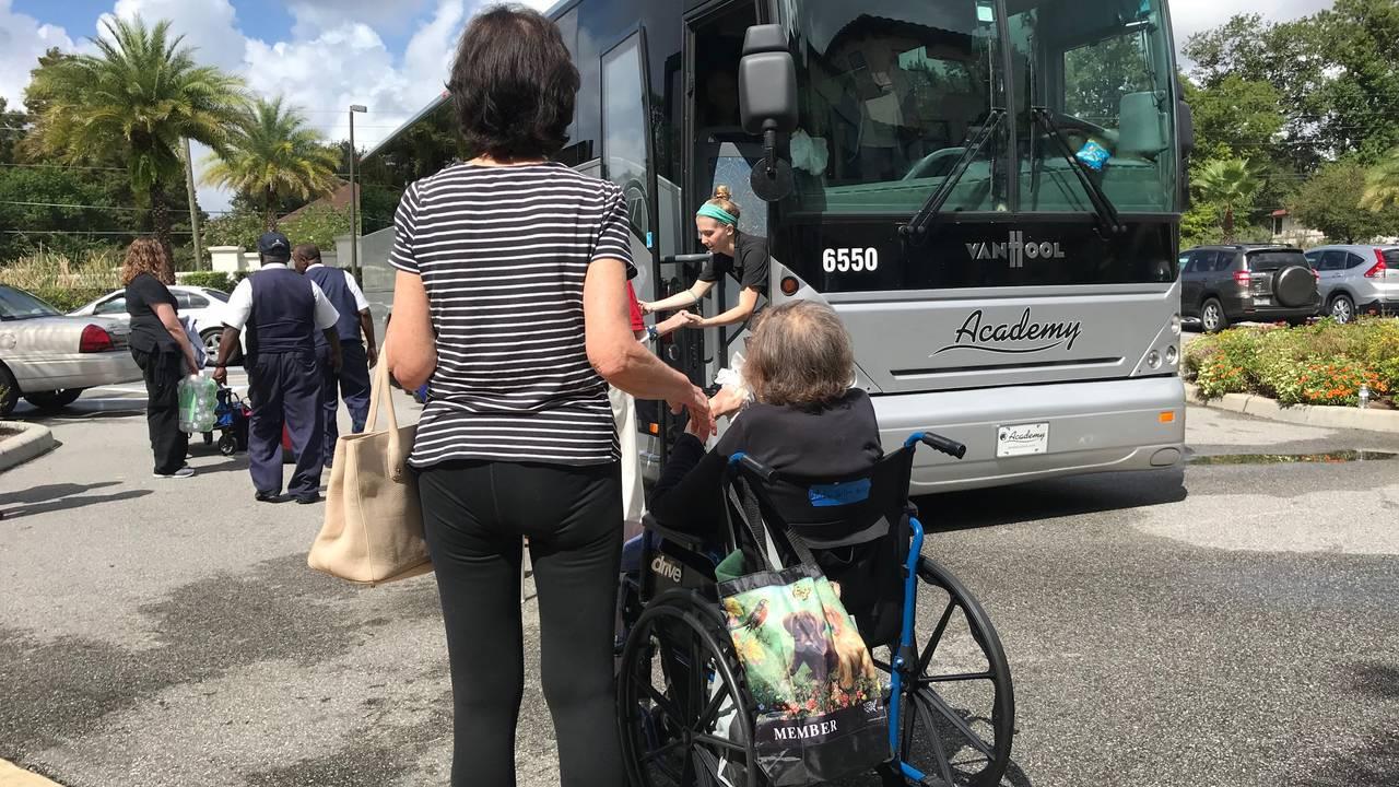 09-02 evacuating Starling assisted living facility ahead of Dorian