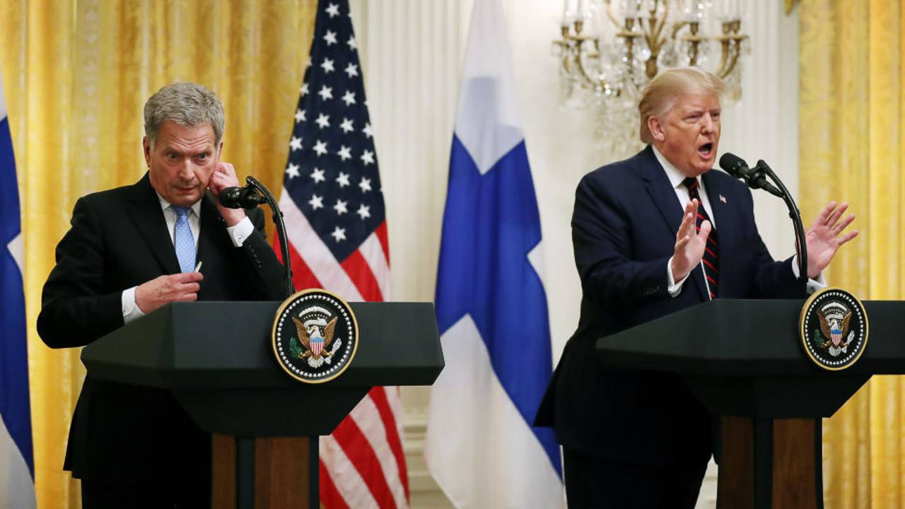 Trump and Finnish president80290822-75042528