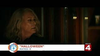 Take a peek at the spooky new 'Halloween' film this weekend