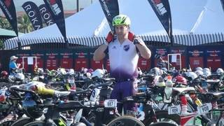 Competing for cure in Ironman World Championship