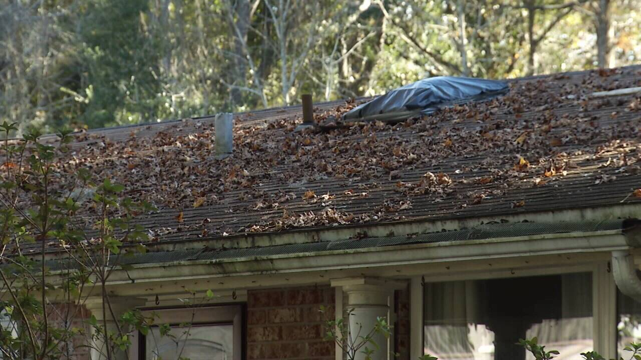 Maria Rogers roof damage