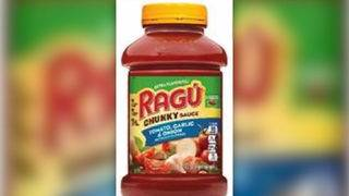 Some types of Ragu pasta sauce are being recalled