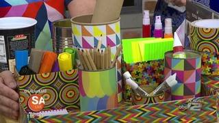 Get creative for back-to-school with these inexpensive DIY ideas