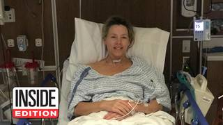 Inside Edition's Deborah Norville Smiles After Waking Up