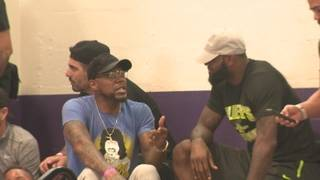 LeBron James cheers on son in South Florida tournament