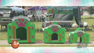 Here's some BARK-tastic K9 Cribs!