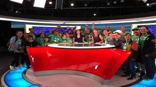 Local 10 welcomes members of Wow Center to Pembroke Park news station