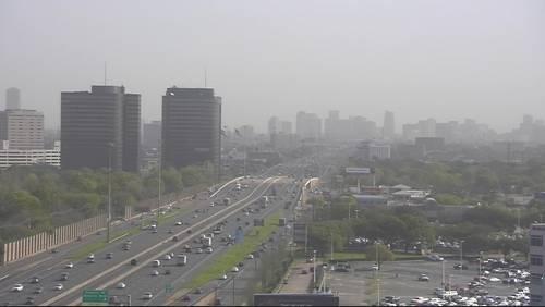 Sunshine making return in Houston as rain moves east