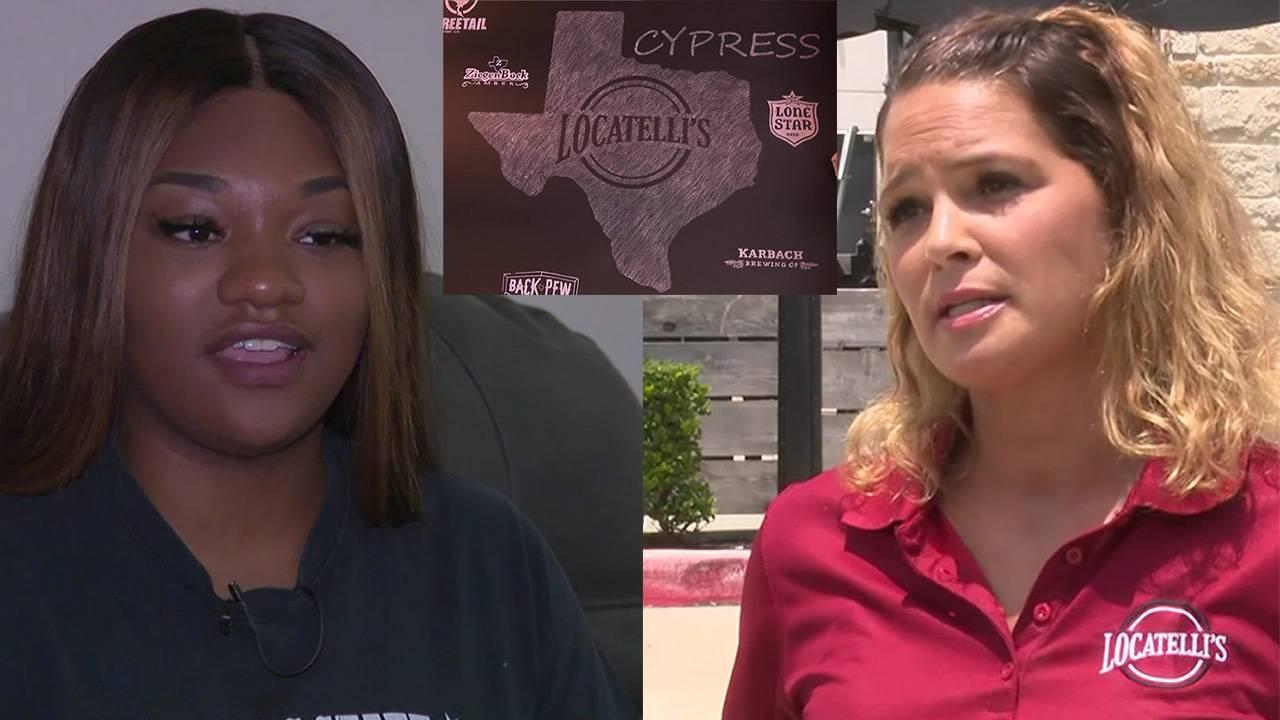 racial profiling at Locatelli's in Cypress