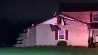 Possible tornado touches down in Frenchtown Township