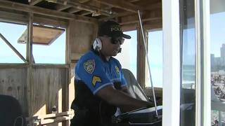 For Miami Beach spring breakers, the DJ is also a police officer