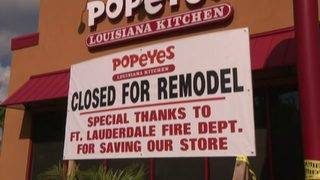 Employees at Fort Lauderdale Popeyes show appreciation for firefighters&hellip&#x3b;