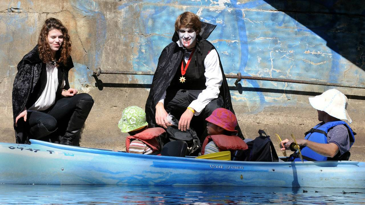 Trick or Treat on the River Vampires