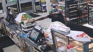 Man wearing floral, floppy hat robs 7-Eleven store in Hollywood