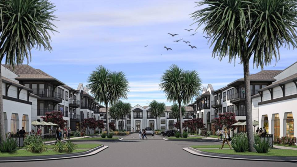 Proposed Neptune Beach development