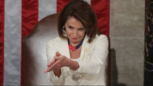 Houston designer made necklace worn by Pelosi at State of Union