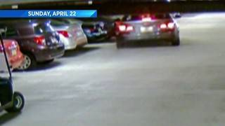 FHP: Video shows driver crashing into 15 cars in parking garage