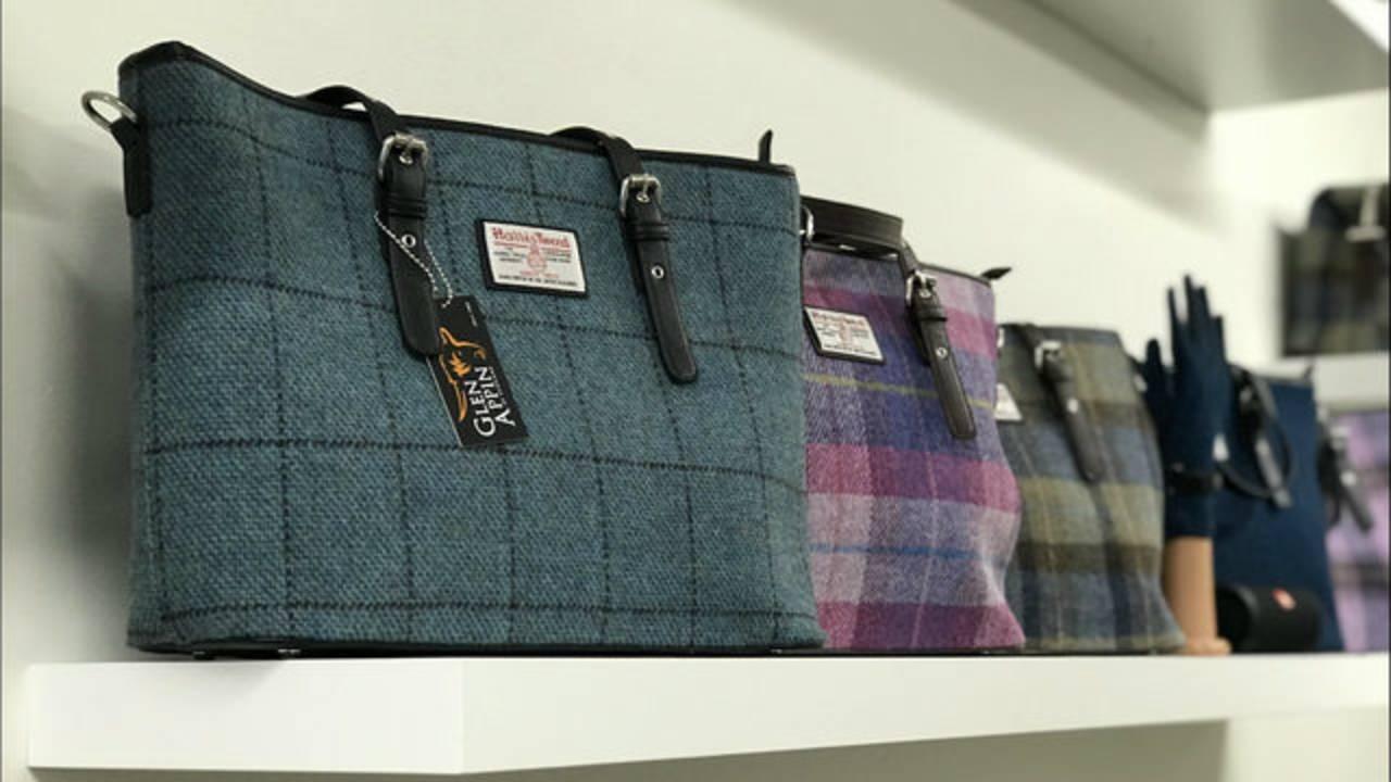 Harris Tweed bags Real Irish Ann Arbor
