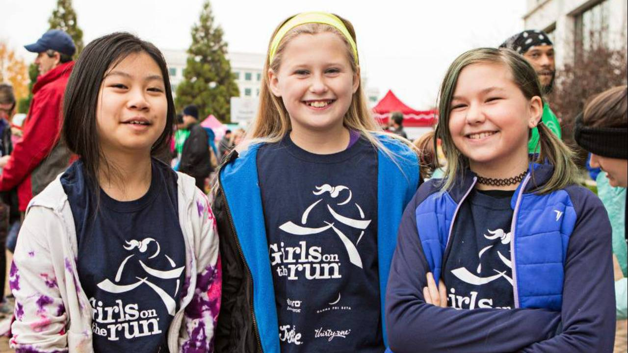 Girls on the Run participants