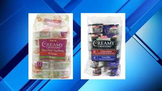 H-E-B issues voluntary recall for two varieties of Creamy Creations ice&hellip&#x3b;