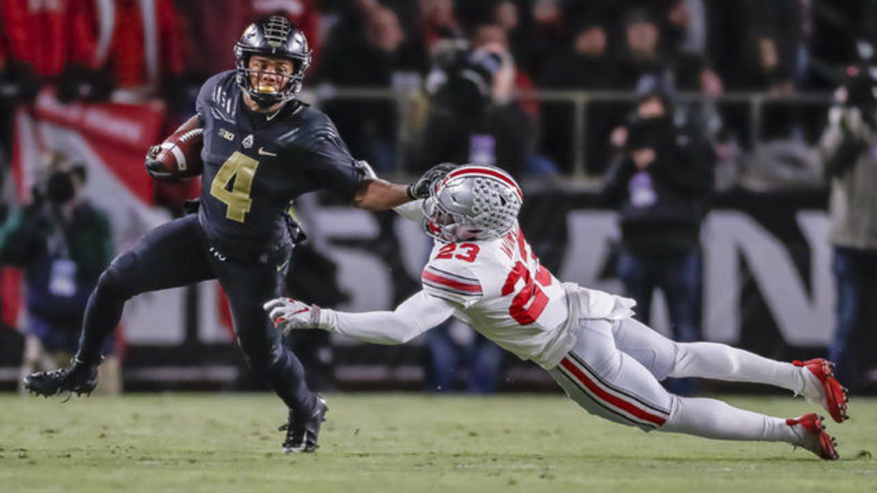 Rondale Moore Purdue football vs Ohio State 2018