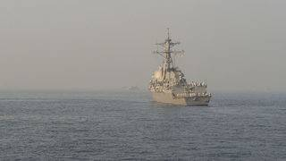 US warship challenges Russia claims in Sea of Japan