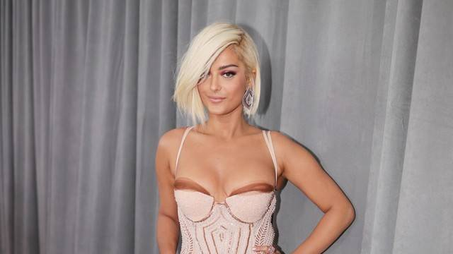 Image result for grammys 2018 bebe rexha