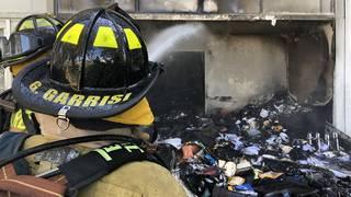 Firefighters battle blaze at Deerfield Beach apartment building