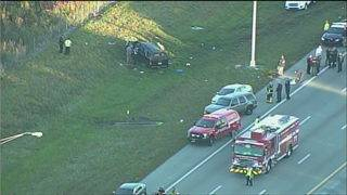 1 dead, 5 others injured in crash on Sawgrass Expressway