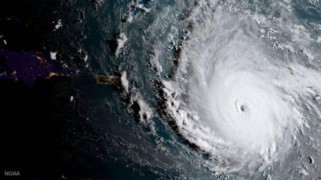 NOAA Irma image