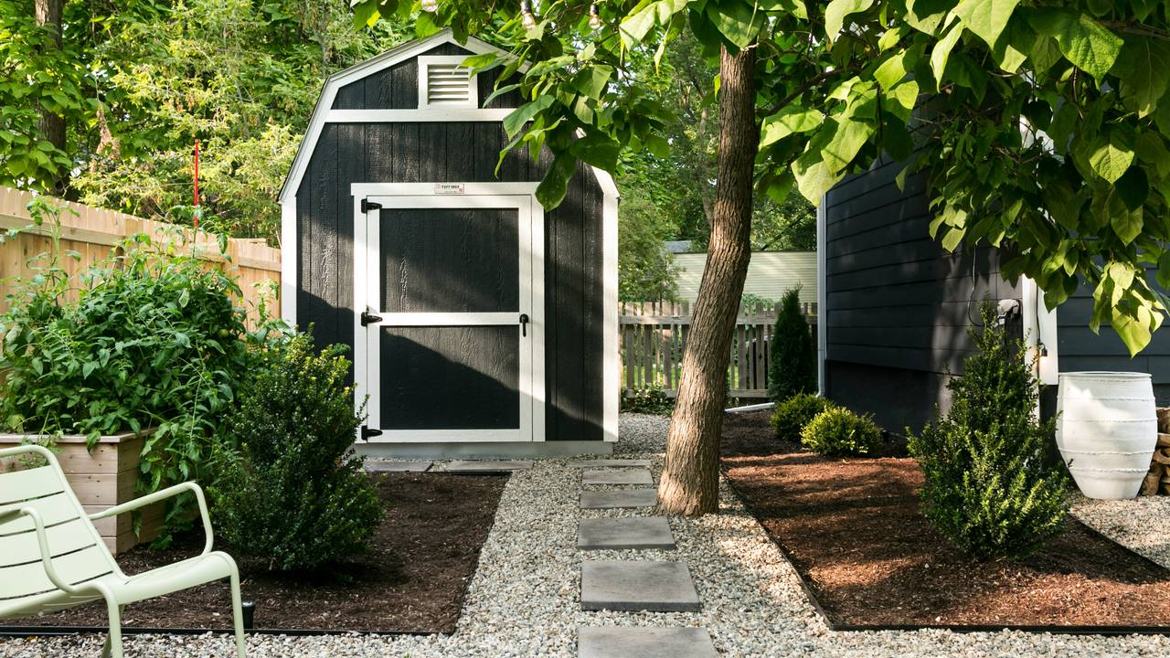 1230 Olivia Ave Shed exterior