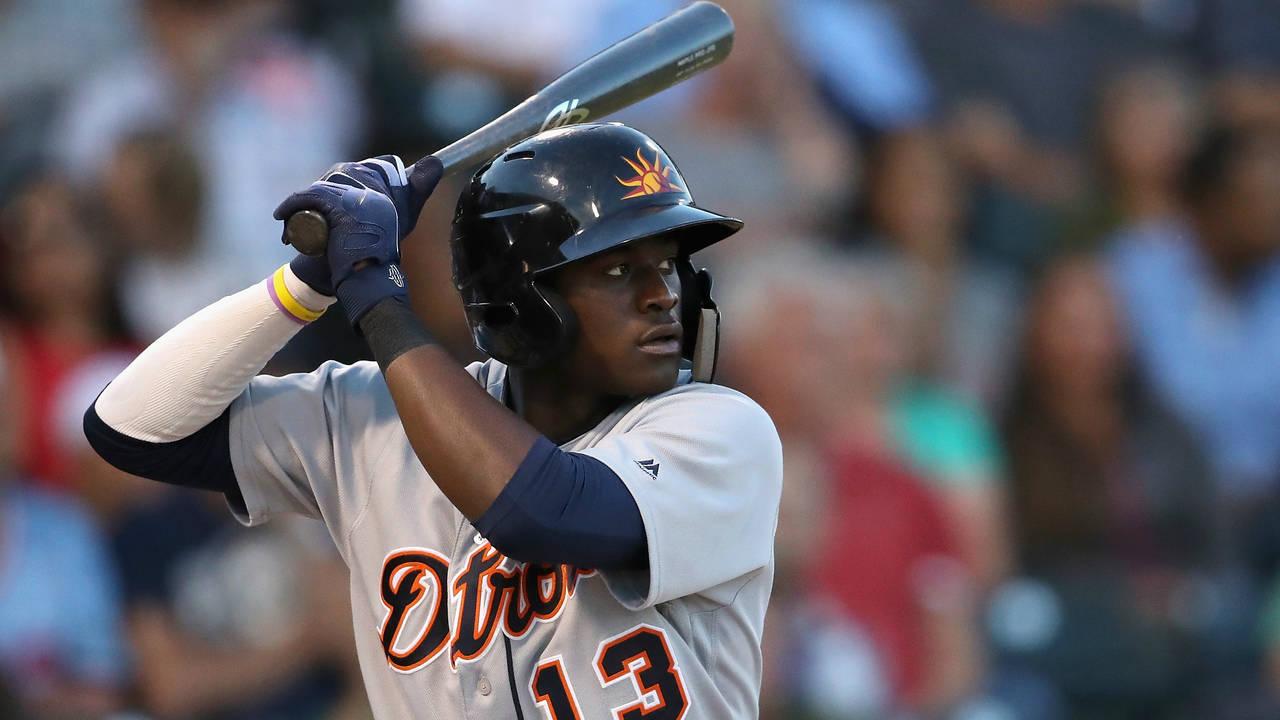 Daz Cameron Detroit Tigers Arizona Fall League 2018