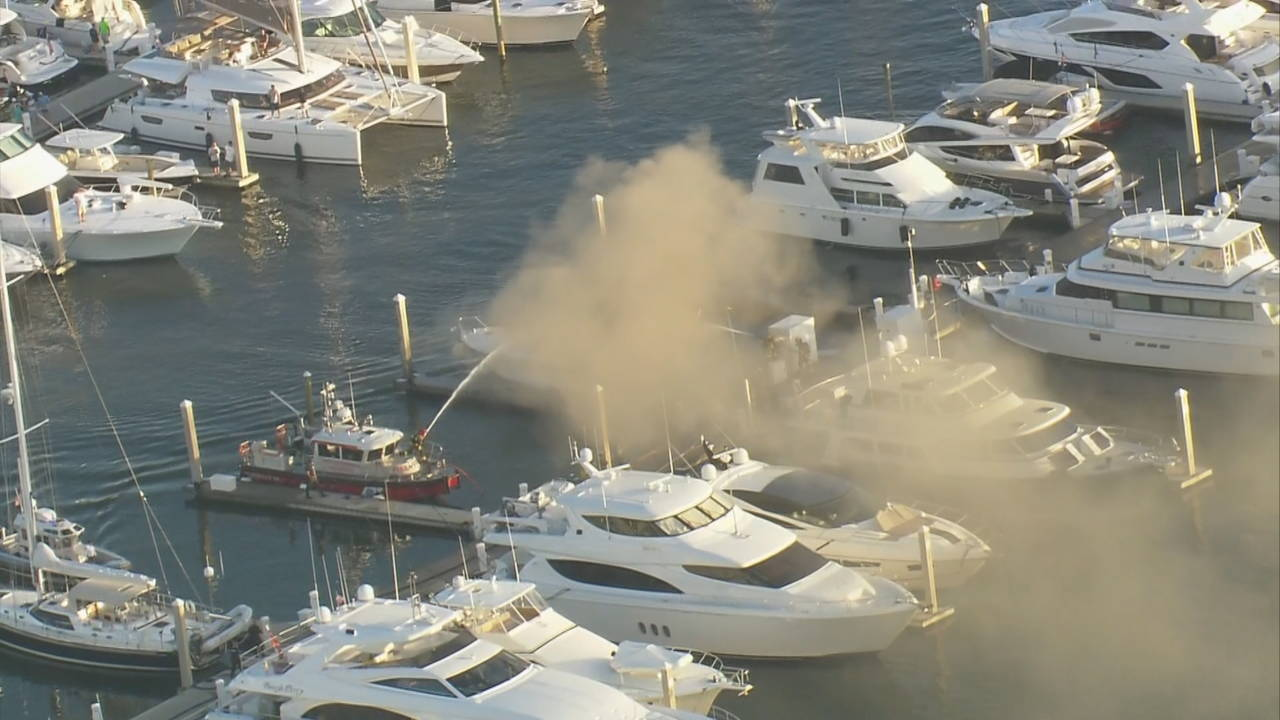 Fort Lauderdale Yacht Fire