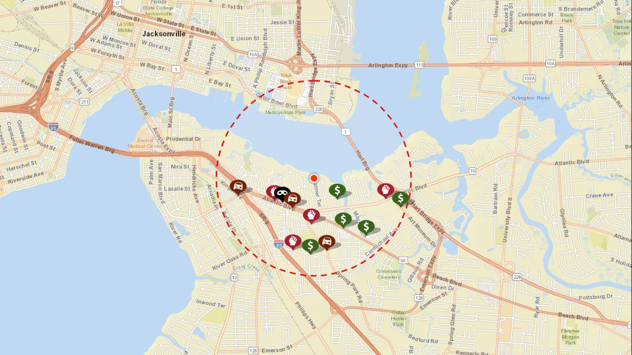 Palmer Terrace Crime Map