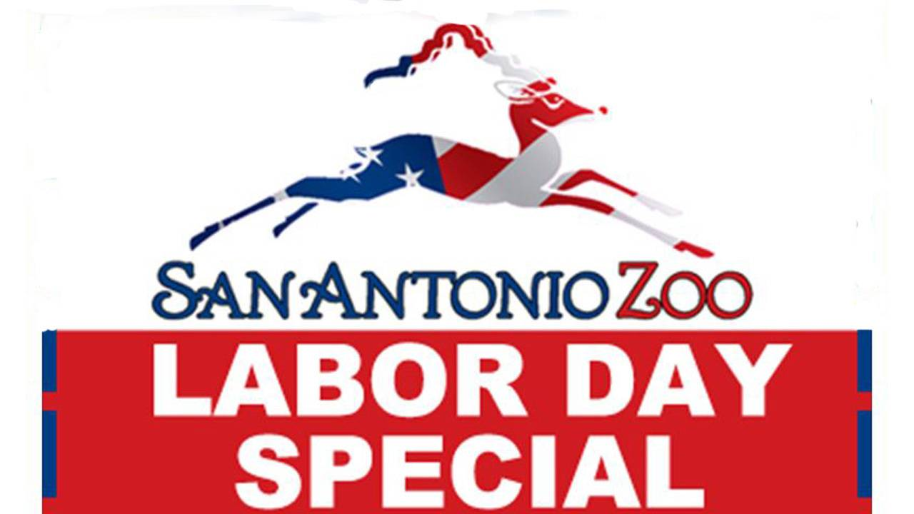 078feaae255 San Antonio Zoo offering Labor Day discounts