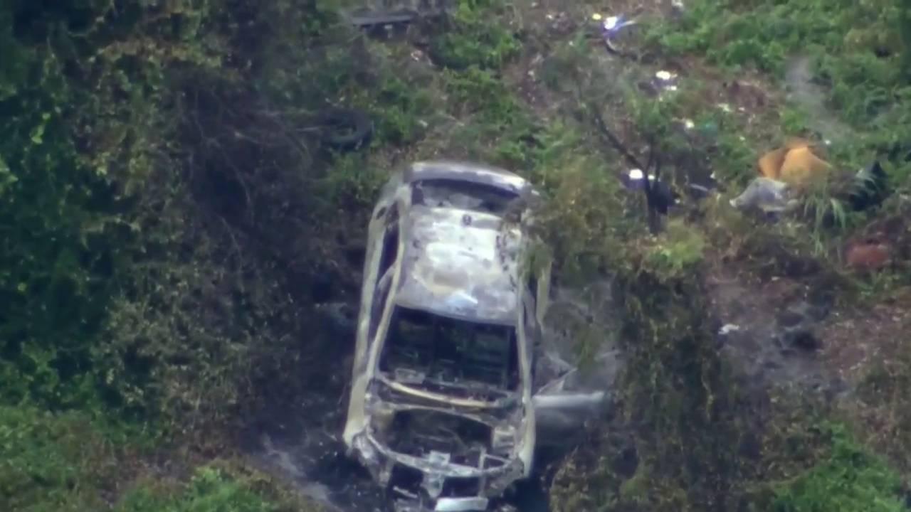 Body found in burning car in Mims20180710031119.jpg