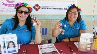 SA Live Fiesta Medal Giveaway: San Antonio Metro Health @ Frank Garrett Center