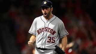 Justin Verlander throws 5-hit shutout, Astros blank Angels 2-0