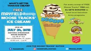 Get free ice cream for a cause on July 24