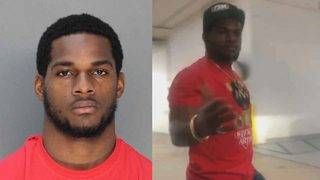 Video shows Mark Walton snatching woman's phone before arrest