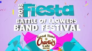 WATCH: Battle of Flowers Association Band Festival
