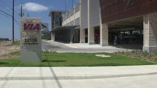 Largest VIA Park and Ride facility opens in Stone Oak
