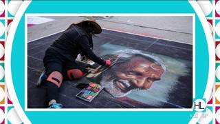 Colorful chalk art to take over downtown Houston's streets this weekend