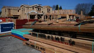 Home builders in for sticker shock as lumber prices climb