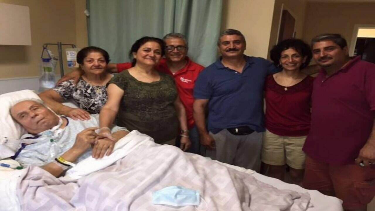 Abdo Rustom's family