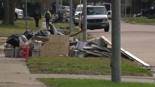 Trash piles from Harvey not being picked up in Cinco Ranch neighborhood,&hellip&#x3b;