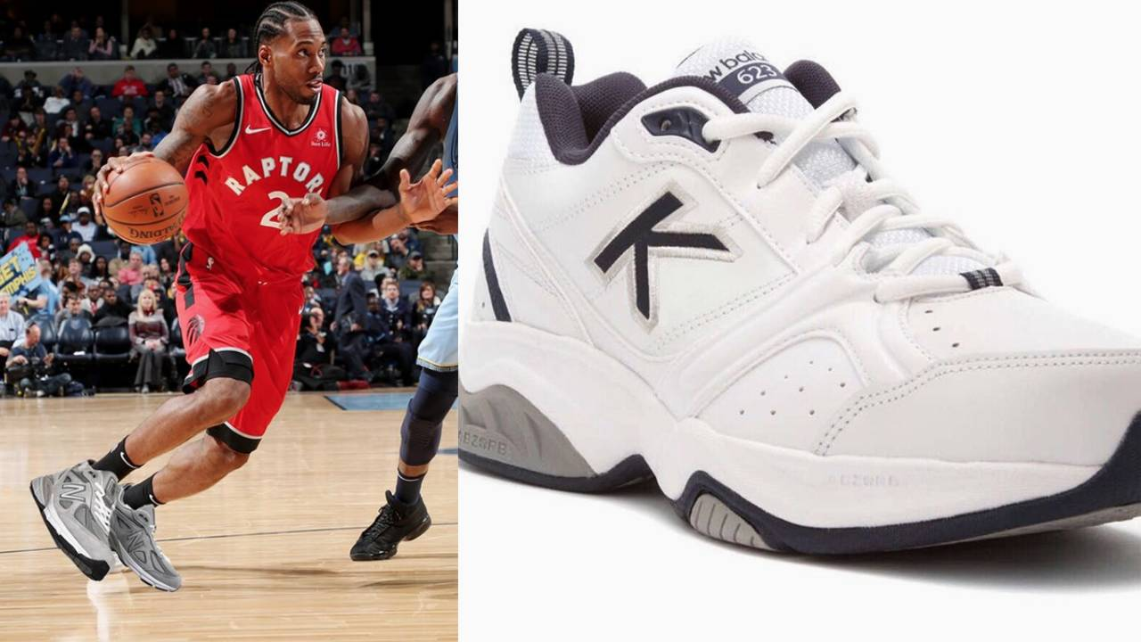 f70e083af996 Social media roasts Kawhi Leonard for shoe deal with New Balance