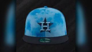 These are the Astros' holiday & special events hats, uniforms